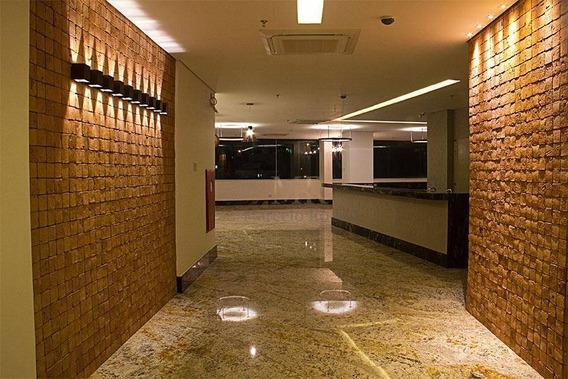 Flat Com 1 Dormitório Para Alugar, 29 M² Por R$ 1.330/mês - Buritis - Belo Horizonte/mg - Fl0006