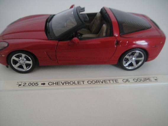 Corvette C6 Convertible 2005 - Le - Franklin Mint