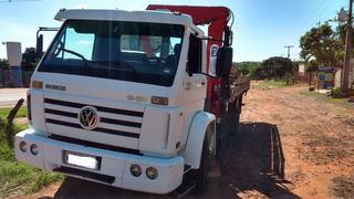 Caminhão Volkswagen Com Munck Tm 15.000