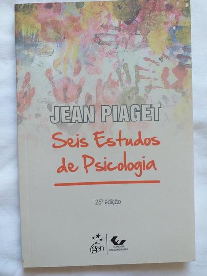 Livro Seis Estudos De Psicologia Jean Piaget
