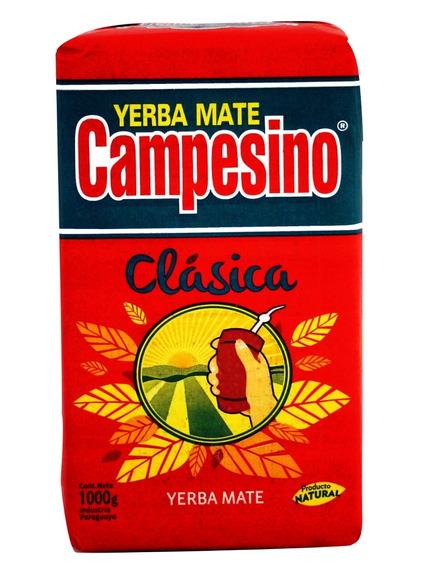 3 Kilos De Yerba Mate Campesino Clásica