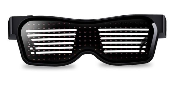 Gafas Con Luz Led Recargable Usb E Inalámbricas