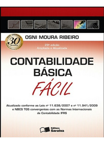 Contabilidade Básica Fácil/osni Moura Ribeiro