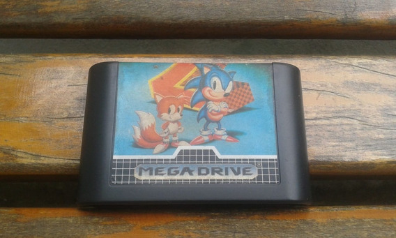 Sonic 2 Original Tec Toy Mega Drive Gênesis