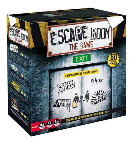 Juego De Mesa Sala De Escape Room 1 Español Original Ingenio