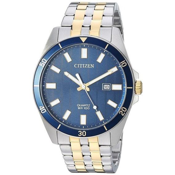 Relógio Citizen Masculino Ref: Tz31114a Esporte Fino Bicolor