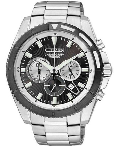 Relógio Citizen Masculino Chronograph Tz30062t Dourado