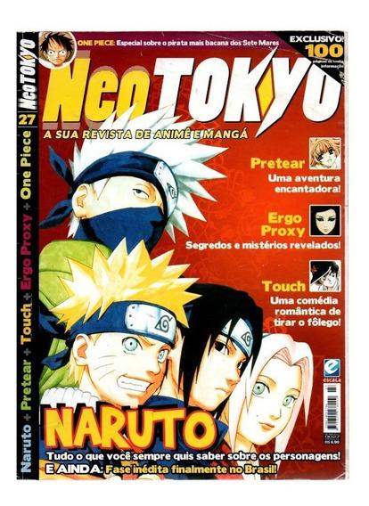 Revista Neo Tokyo Naruto Nº 27 C/poster
