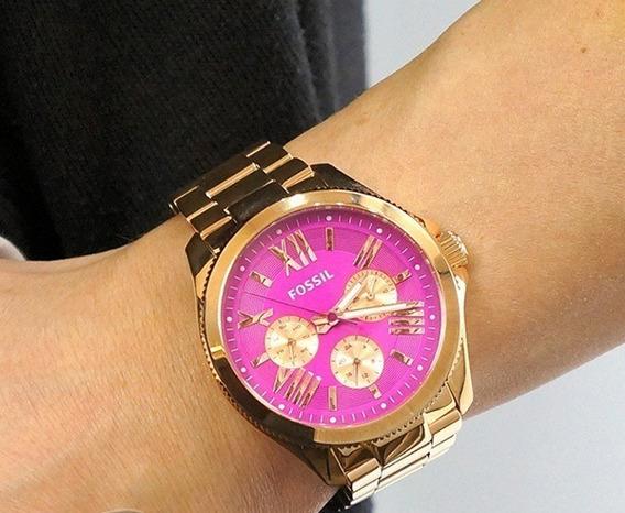 Relógio Fossil Cecile Am4549 Original (frete Grátis!)