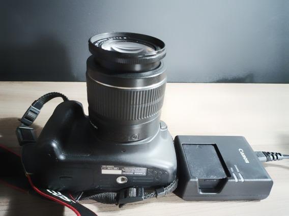 Câmera Cânon T5 Lente 18x55   Acompanha Carregador + Cartão