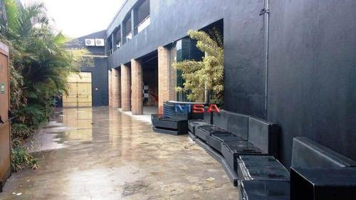 Galpão À Venda, 500 M² Por R$ 3.000.000,00 - Pacaembu - São Paulo/sp - Ga0106