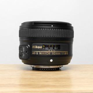 Nikon Af-s Fx Nikkor 50 Mm F / 1.8g Automatico