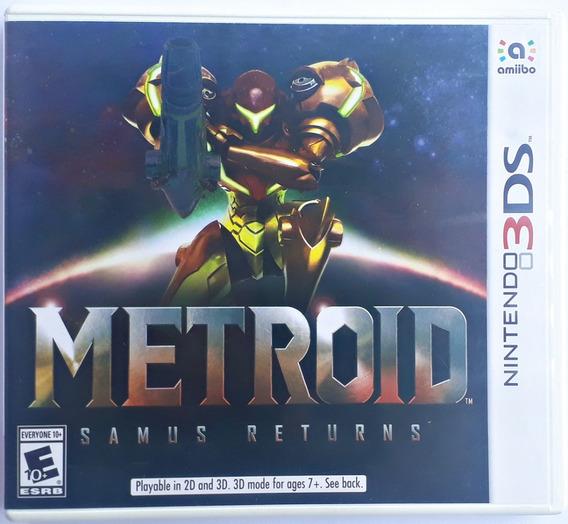 Jogo Metroid Samus Returns Nintendo 3ds Original Frete Gráti