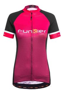 Remera Ciclismo Funkier Spoleto Women - Runner Bike Belgrano