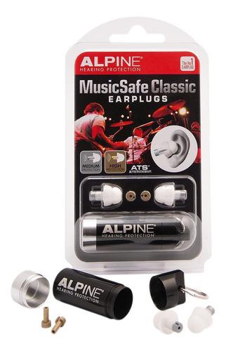 Protetor Auricular Músicos - Alpine Musicsafe Classic