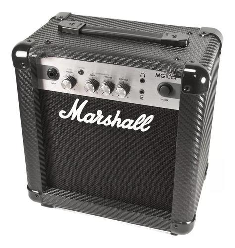 Marshall Mg Series Mg10cf Amplificador 10w Transistor Negro