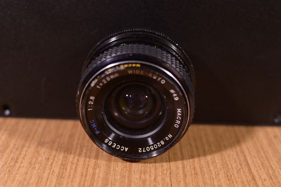Lente 28mm 2.8 Nikon - Manual Com Macro