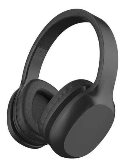 Fone De Ouvido Xtrax Groove Bluetooth Preto Com Cabo P2