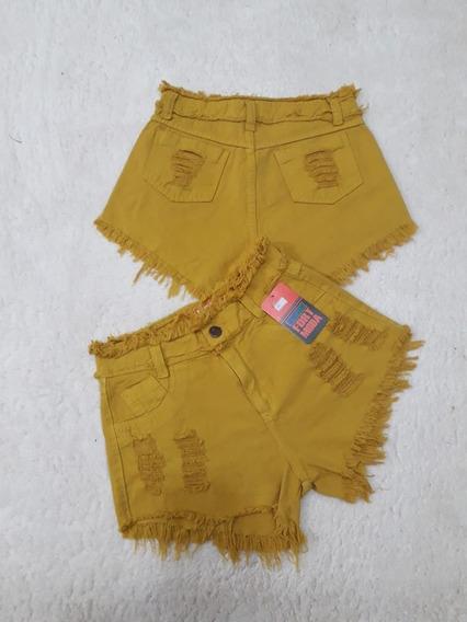 Promoção Kit 10 Sexy Shorts Jeans Feminino Hot Pants Cintura Alta Destroyed 18 Modelos Atacado Revenda Preço De Fábrica