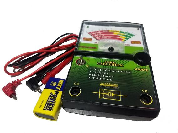 Capacheck Capacheck Analógico 100 Khz Com Bateria De 9v