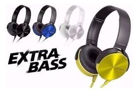 Headphone Fone De Ouvido Mdr-xb450ap Extra Bass