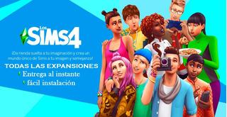 Sims 4 Deluxe Edition + Todas Las Expansiones   Pc Digital