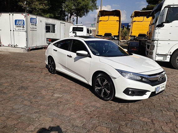 Honda Civic 1.5 16v 2017 Turbo Gasolina Touring 4p Cvt,