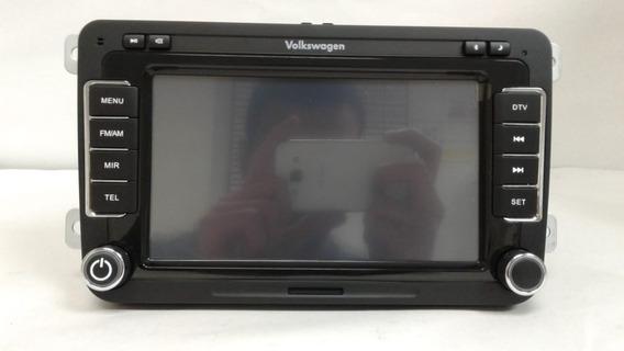 Sistema De (gps) Com Dvd-player Original Vw 5z0063500g
