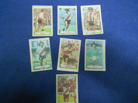 Figuritas Argentina Campeon 1978 River Plate-equipo Completo