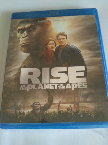 Rise Of The Planet Of The Apes Blu-ray Nuevo Sellado