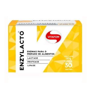 Enzylacto (mix De Enzimas Digestivas) 30 Sachês 2g