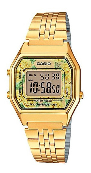 Relógio Casio Vintage Dourado - La680wga-9cdf