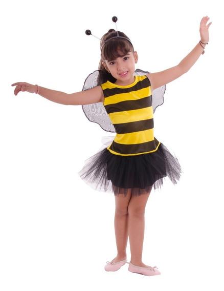Disfraz De Abeja Nena Talle 1 Marca Candela