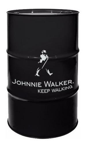 Adesivo Decorativo Barril Tonel Tambor Johnnie Walker 50x70