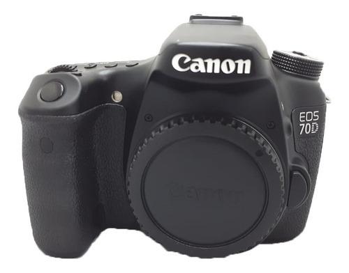 Câmera Canon 70d Perfeita ( Corpo) Semi Nova 37.500 Cliques