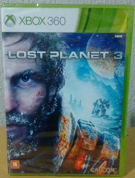 Lost Planet 3 Xbox 360 - Novo Lacrado - Ntsc