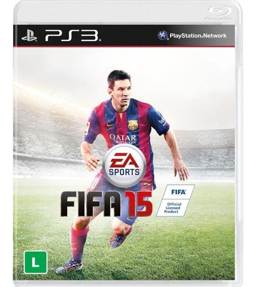 Game Ps3 Fifa 15 - Original - Novo - Lacrado