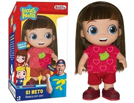Boneca Gi Neto Com Som 1073 - Rosita