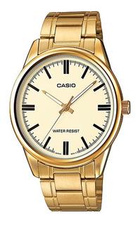 Reloj Casio Mujer Ltp-v005g-9a Quartz Análogo Pulso Metálico