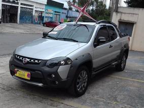 Fiat Strada 1.8 Adventure Cab. Dupla Flex 3p 2015 $ 52500