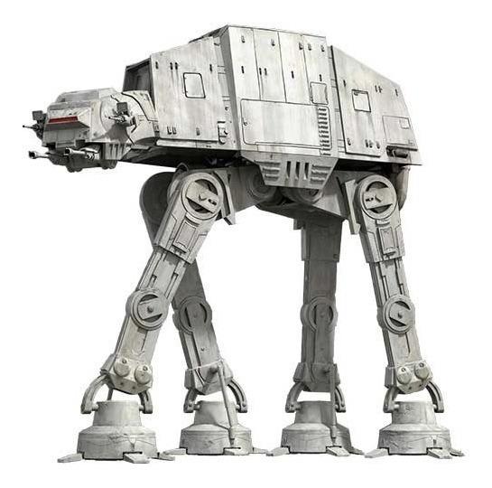 Star Wars At-at Vehículo Imperial (para Armar En Papel)