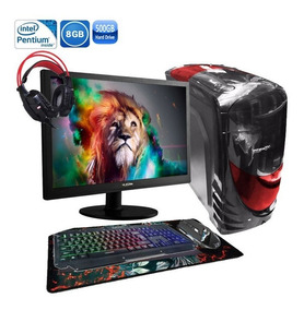 Pc Gamer Completo Hércules Hd 6570 2gb 8gb Hd500gb
