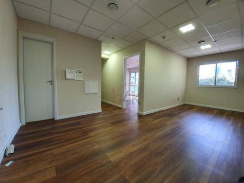 Sala Para Alugar, 51 M² Por R$ 2.600,00/mês - Brooklin - São Paulo/sp - Sa0312
