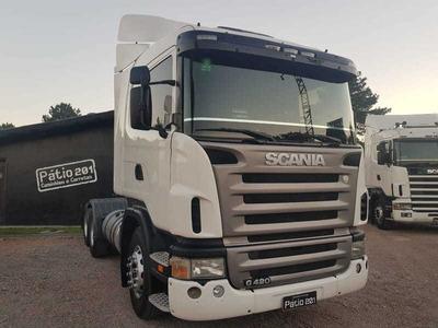 Caminhão Scania G 420 2008 6x2 Trucado