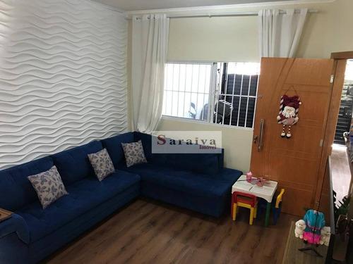 Imagem 1 de 22 de Sobrado Com 3 Dormitórios À Venda, 240 M² Por R$ 650.000 - Santa Terezinha - São Bernardo Do Campo/sp - So1124