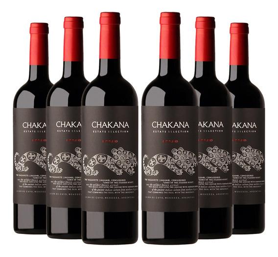 Vino Tinto Chakana Estate Selection Red Blend (6x750ml)