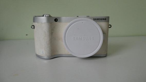 Camera Digital Samsung Nx300m Em Bom Estado, Completa