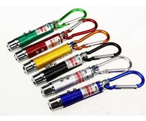 Chaveiro, Laser Pointer Vermelho 3 Em 1,-2 Unidades-
