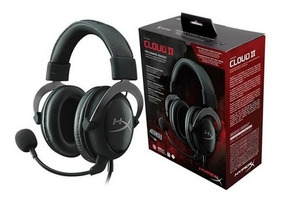 Headset Gamer Hyperx Cloud Ii 7.1 Preto/cinza - Khx-hscp-gm
