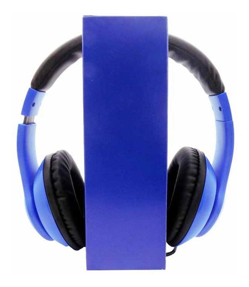Headphone C/microfone Series Azul/preto 6012091 Maxprint